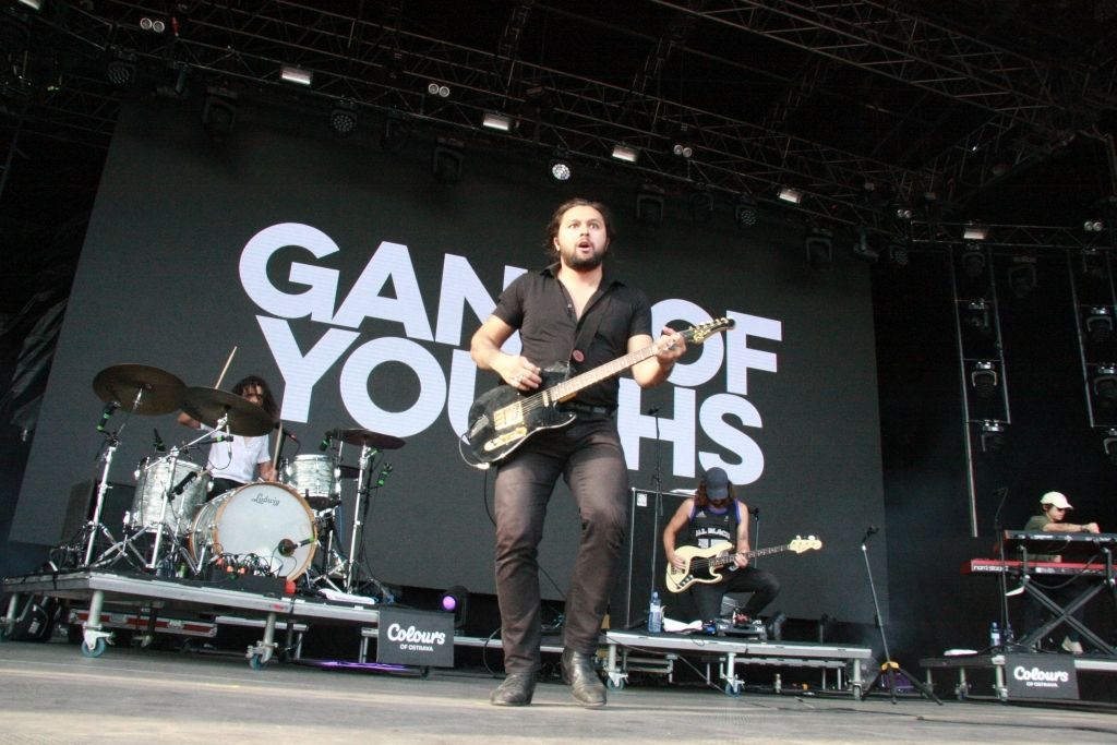 Gang of Youths na Colours of Ostrava.