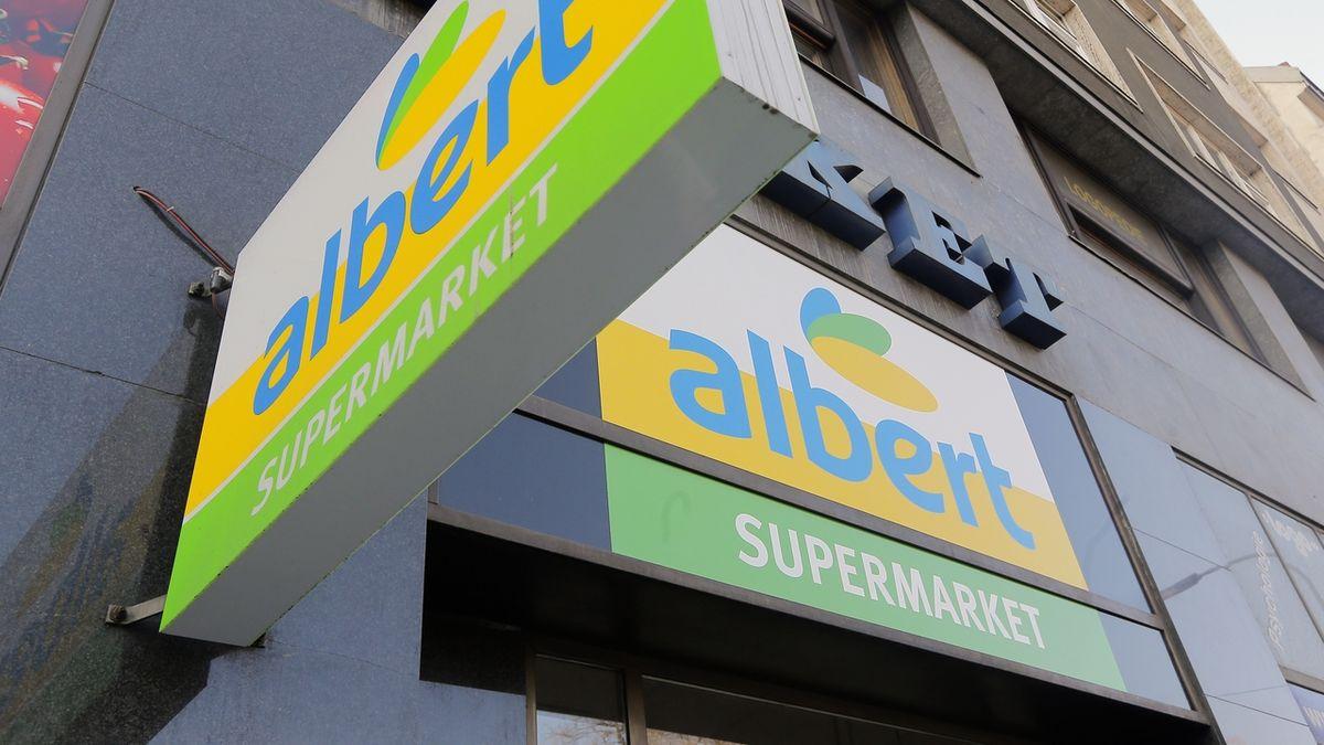 Prodejna potravin Albert nizozemské společnosti Ahold.