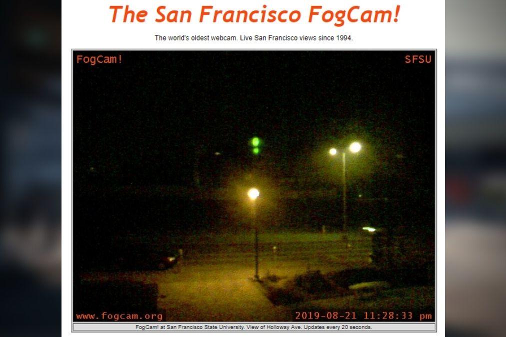 Webové stránky FogCam.org