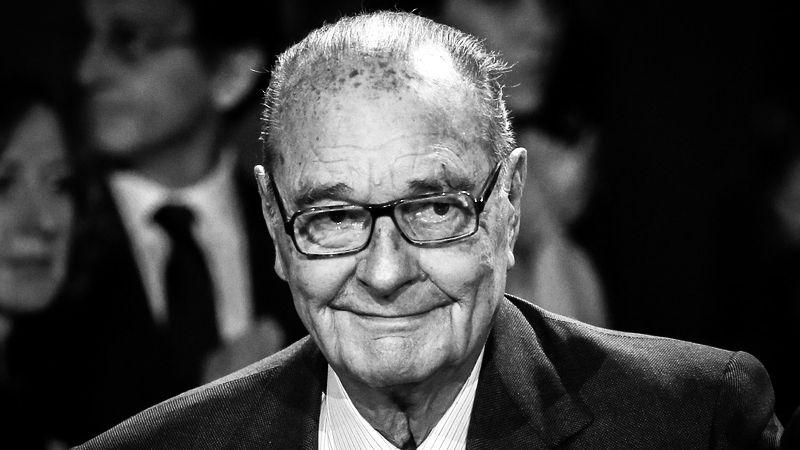 Zemřel Jacques Chirac