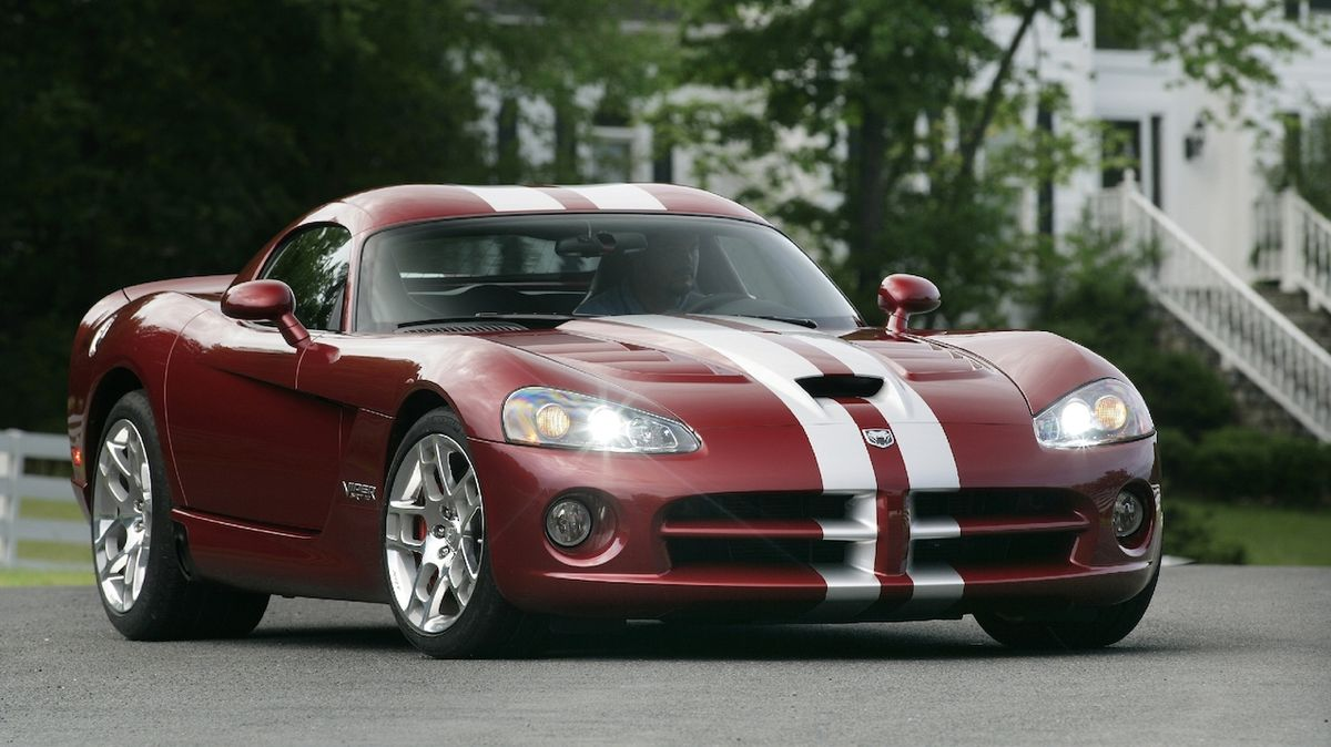 Dodge Viper SRT10 z roku 2008
