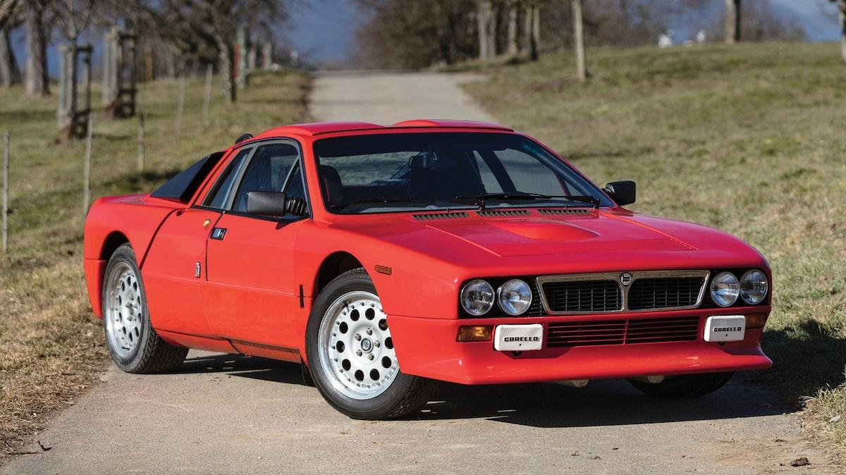 1982 Lancia 037 Rally Stradale
