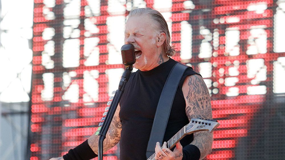 James Hetfield, frontman Metalliky