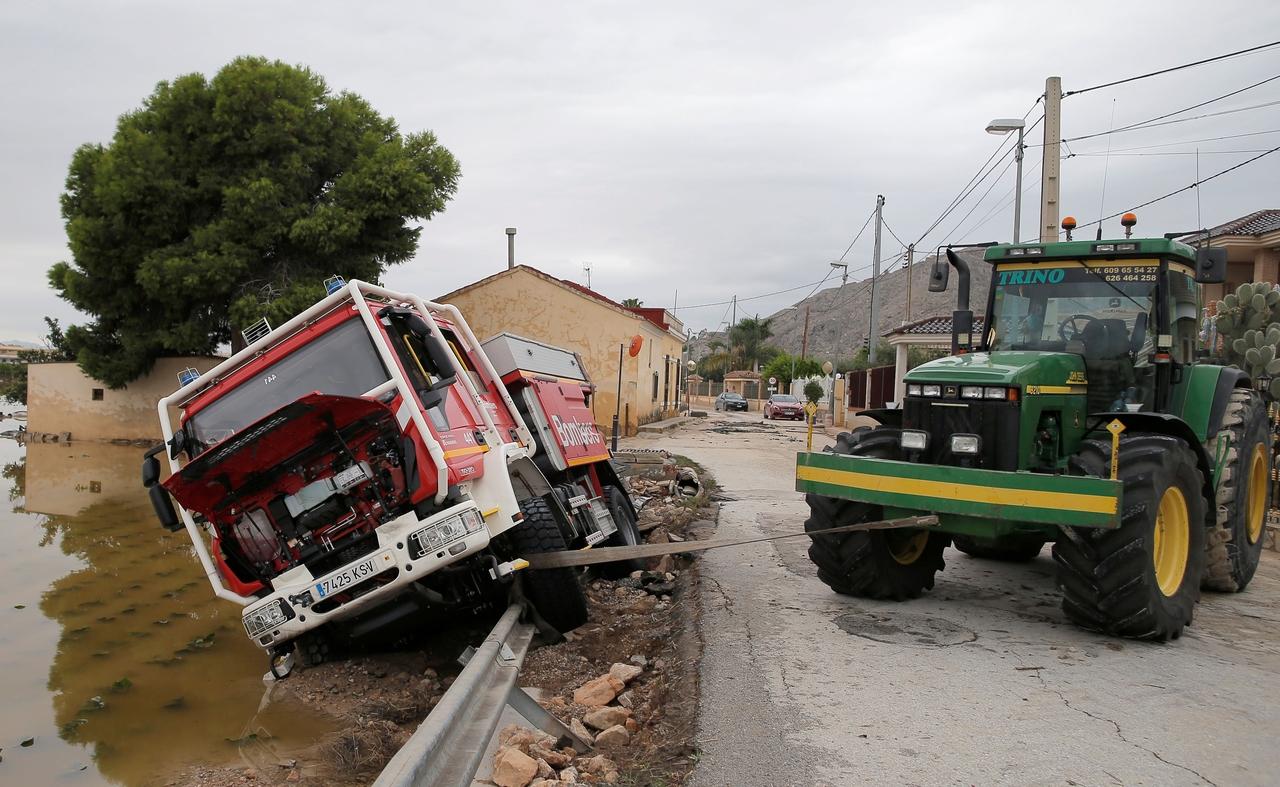 záplavy španělsko