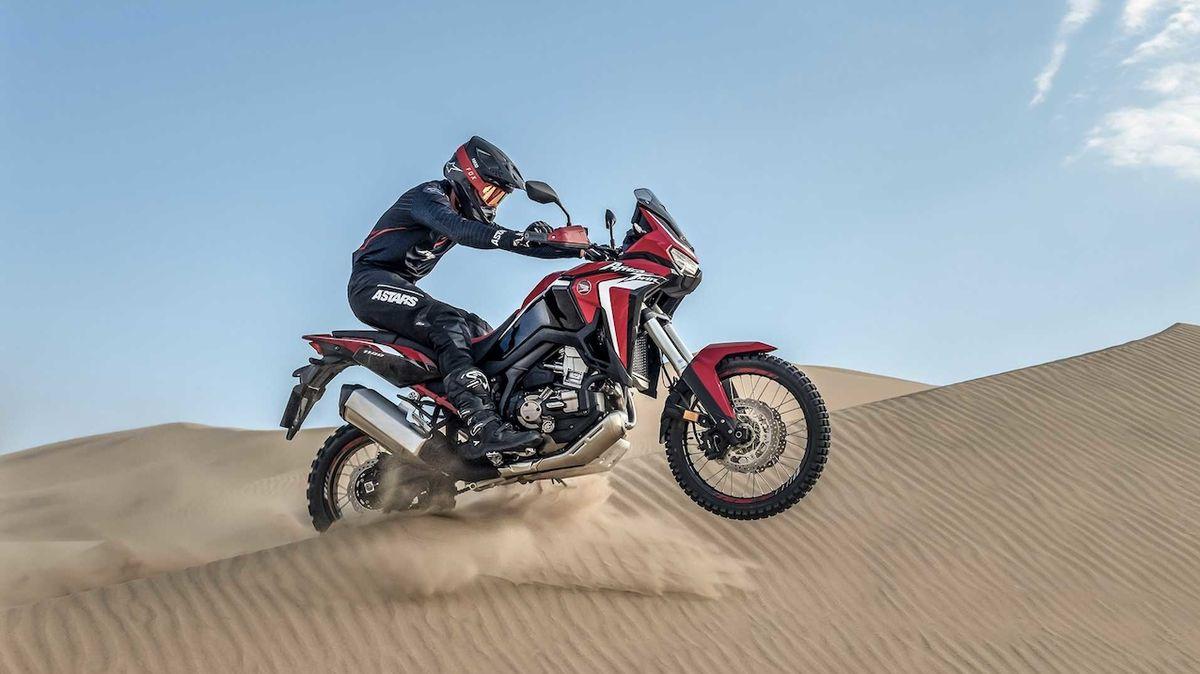 Nová Honda Africa Twin je motorka plná elektroniky