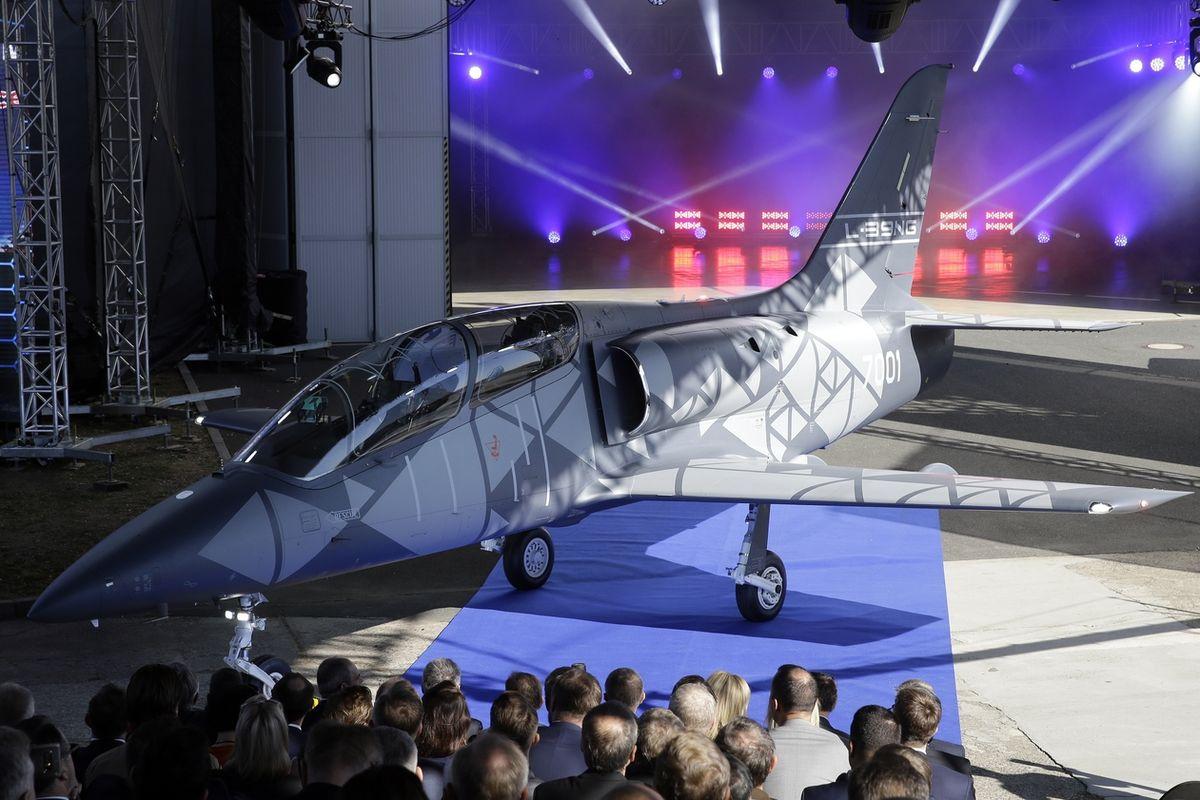 V Aeru Vodochody představili 12. října 2018 nové letadlo L-39NG.