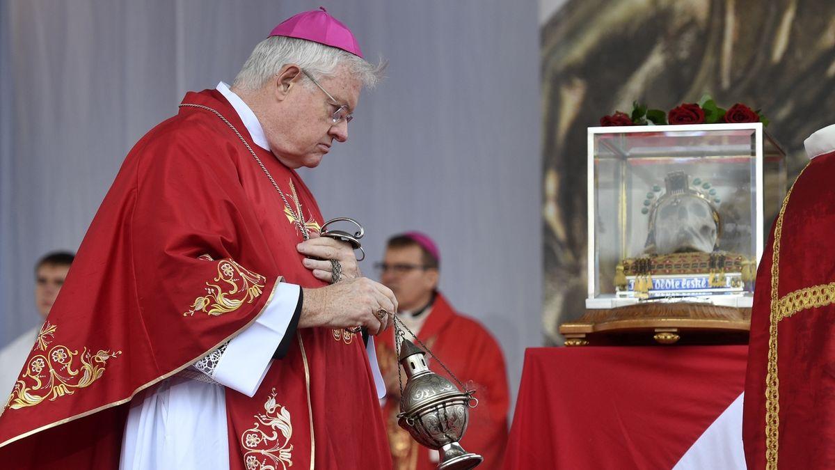 Lidé si ve Staré Boleslavi připomněli svatého Václava