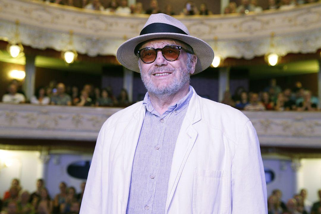 Vladimír Smutný uvedl v karlovarském divadle film Zánik samoty Berhof