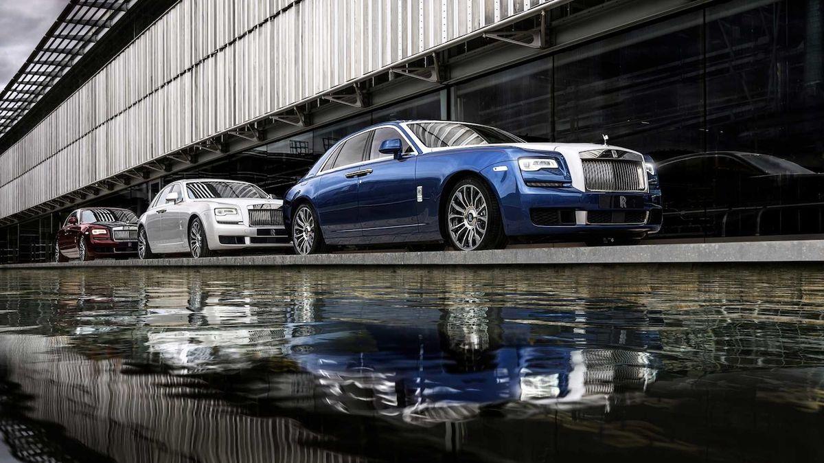 Pro novou edici modelu Rolls-Royce Ghost rozřezali původní koncept, aktuální generace se tím loučí