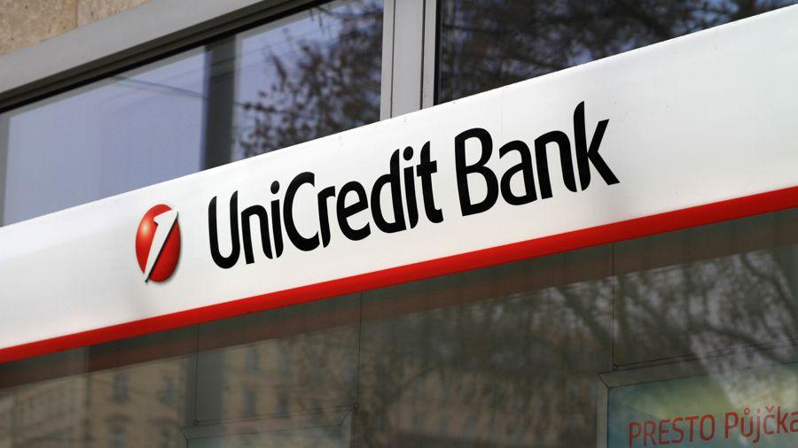 UniCredit Bank stoupl zisk na 7,25 miliardy