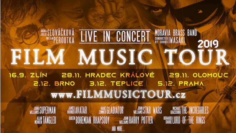 Film Music Tour 2019 - plakát