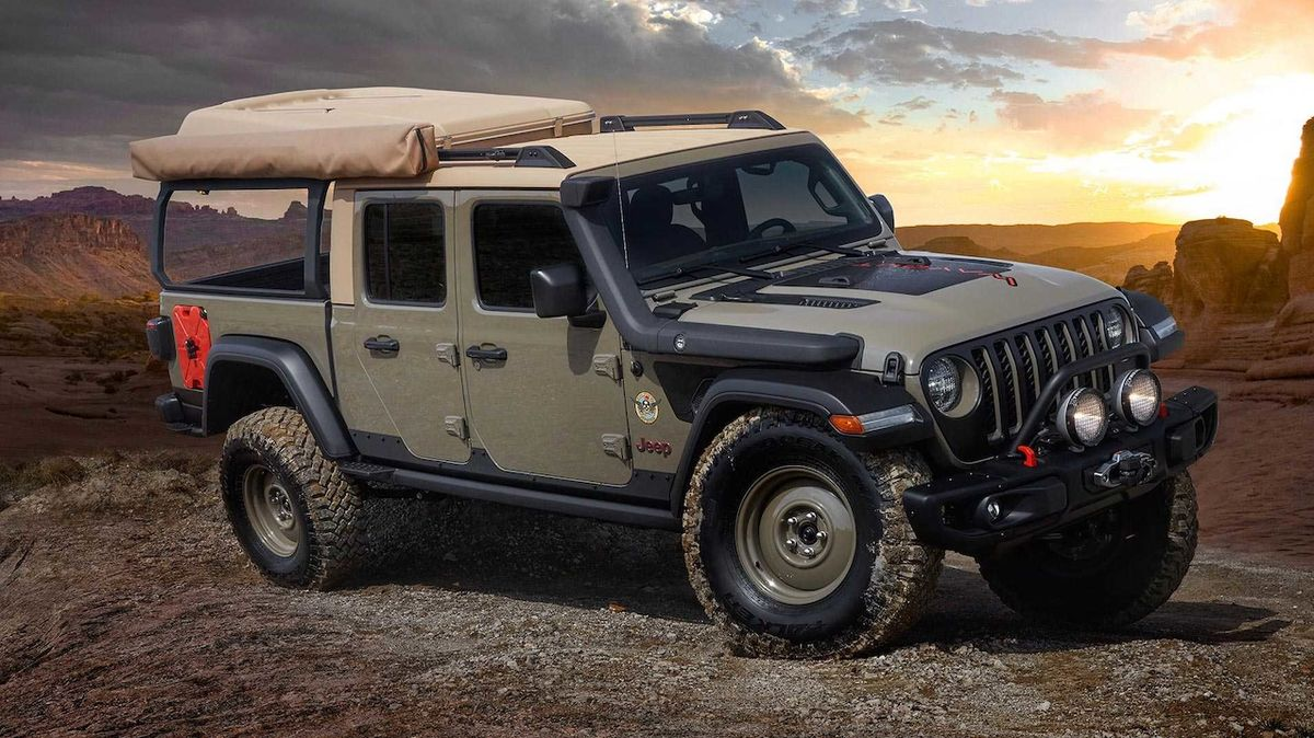 Jeep Gladiator Wayout