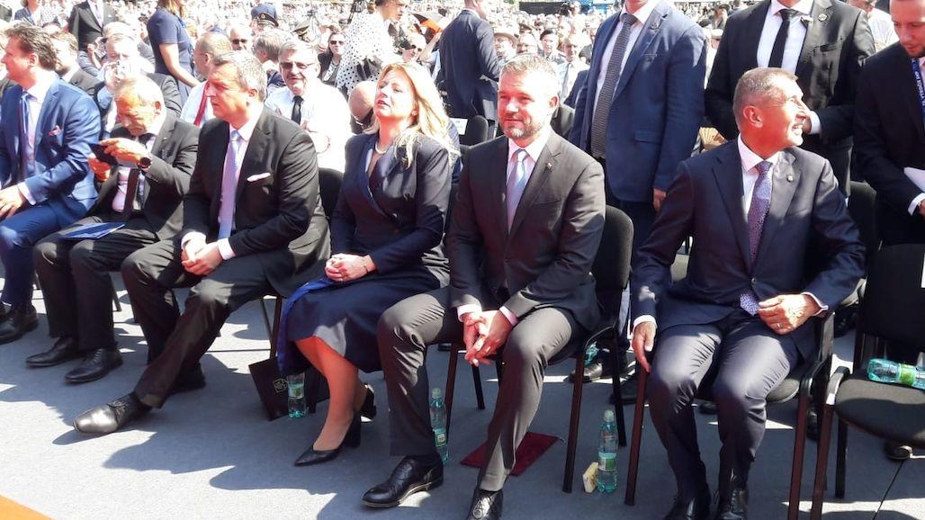Slovensko povstáním získalo zpět svou čest, prohlásila Čaputová