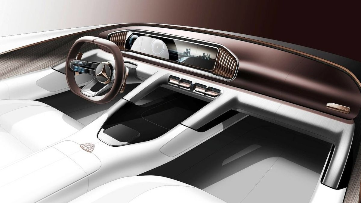 Detaily konceptu Vision Mercedes-Maybach Ultimate Luxury
