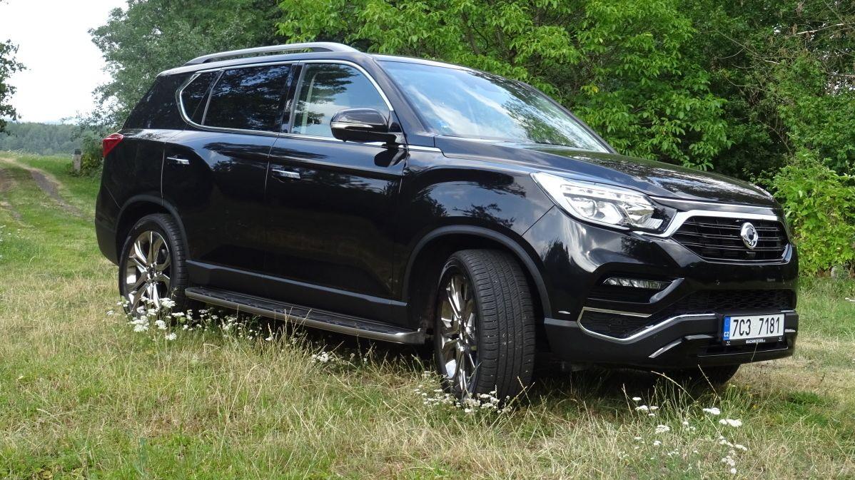 Test Ssangyongu Rexton: Za dobré peníze dobré auto