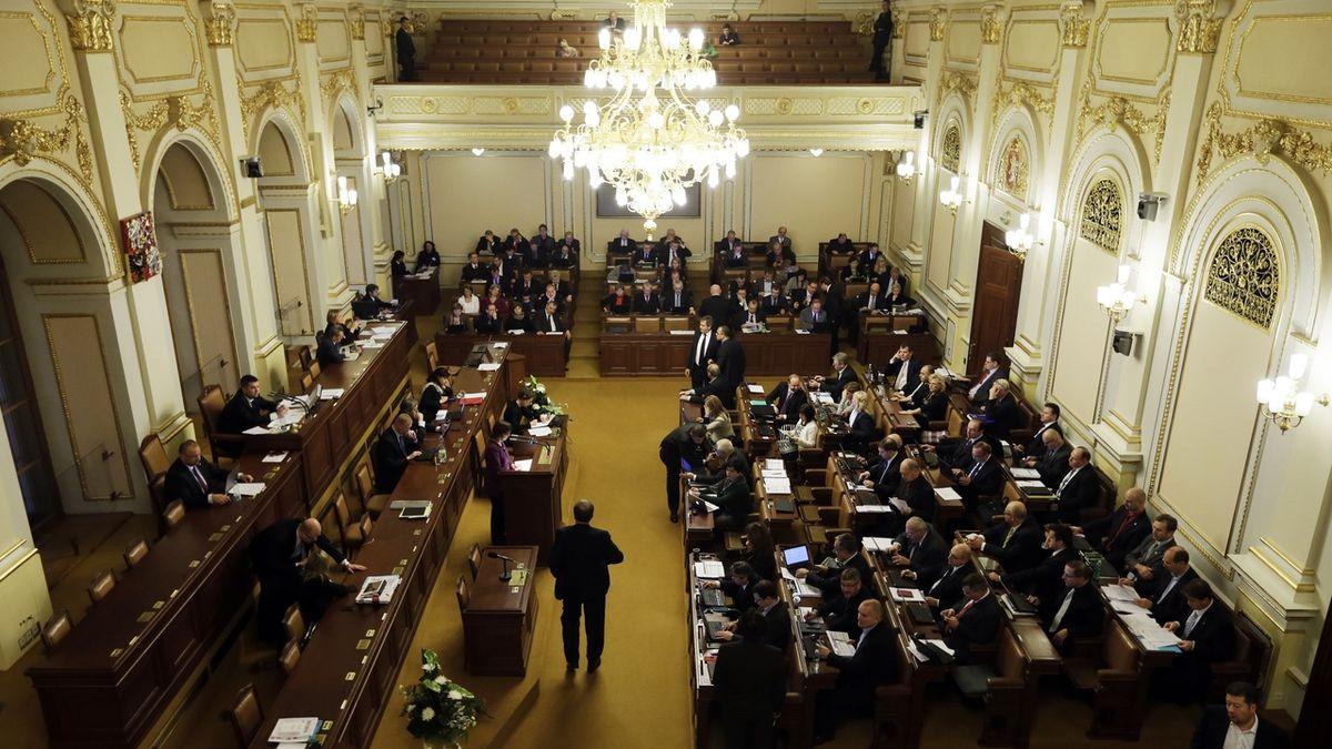 Jednací sál Poslanecké sněmovny