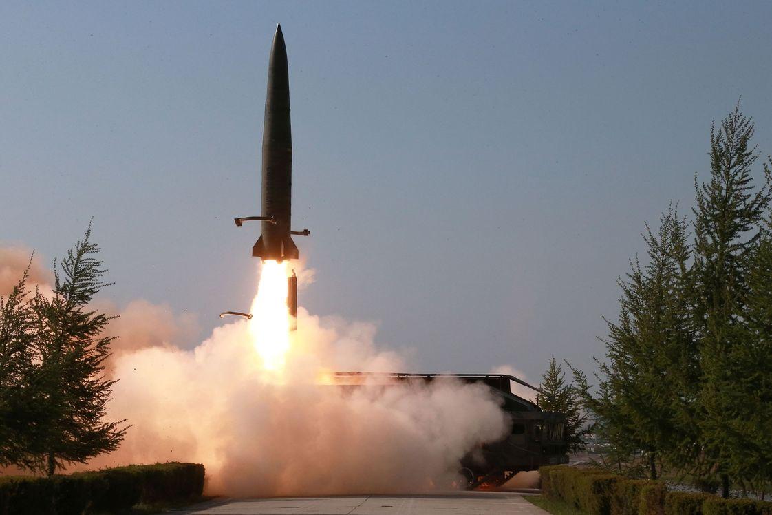 Start nové severokorejské rakety