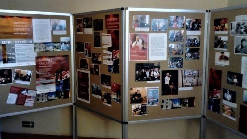 Expozice Karla Kryla slaví pět let, výstava připomíná nejzajímavější momenty aakce