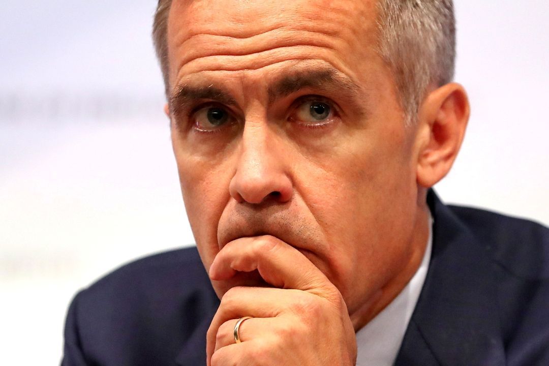 Guvernér Bank of England Mark Carney