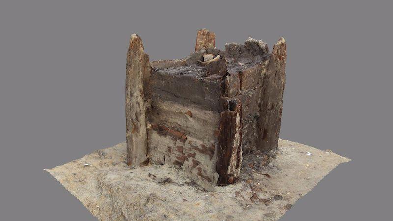Studna nalezená pod budoucí D35 je nejstarší dřevěný objekt na světě