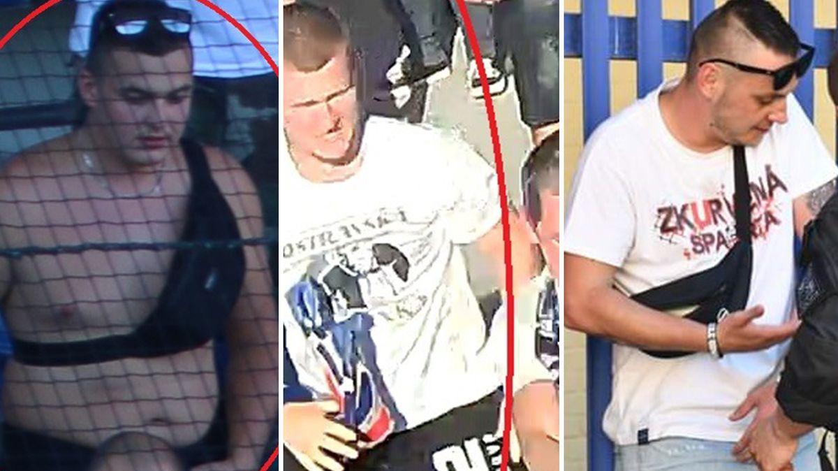 Ostravští fanoušci napadli po utkání pořadatele, policie hledá tři muže
