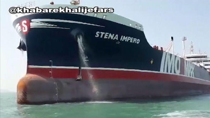 Tanker Stena Impero zadržovaný od července v Íránu vyplul na moře