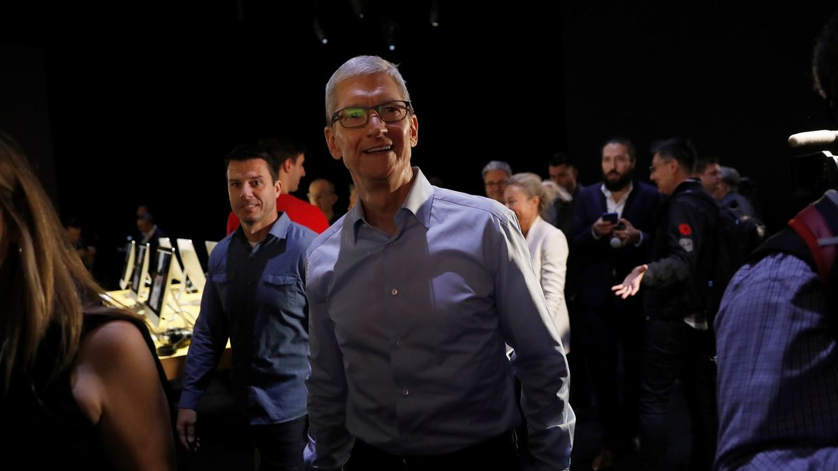 Šéf Applu Tim Cook.