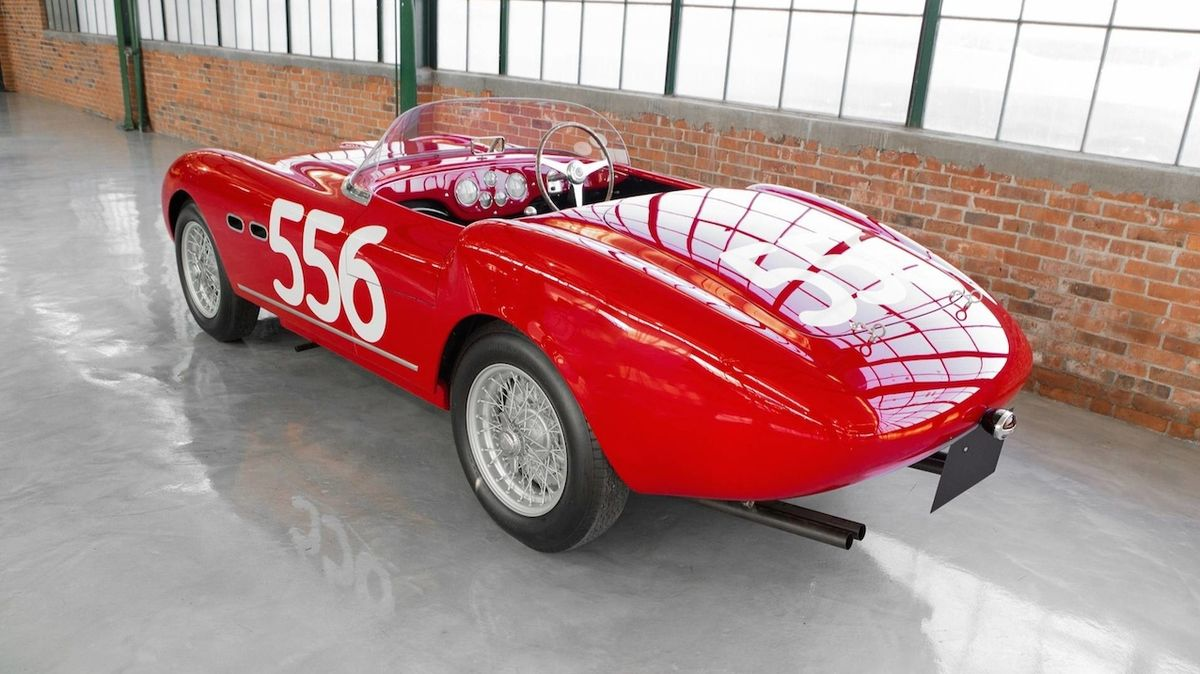 1953 Ferrari 166 MM Spider