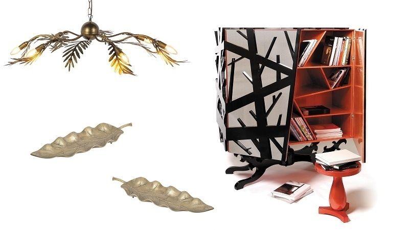 Vykouzlete v interiéru podzimní atmosféru, volte kousky s motivy listů nebo větví