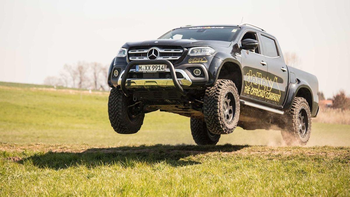 Vyšší a širší Mercedes třídy X vypadá skvěle
