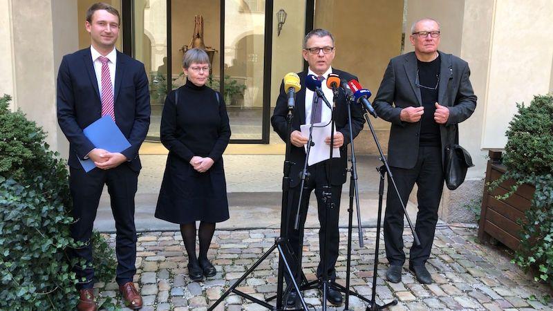 Národní galerii povede Nedoma, Staňkem pověřený šéf na Zaorálkův popud končí