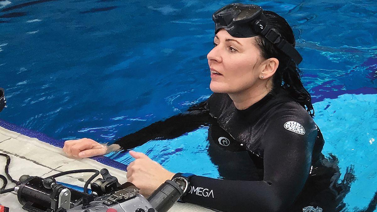 Fotografka Lucie Drlíková: Kreativní fotky dělám pod vodou pouze na nádech
