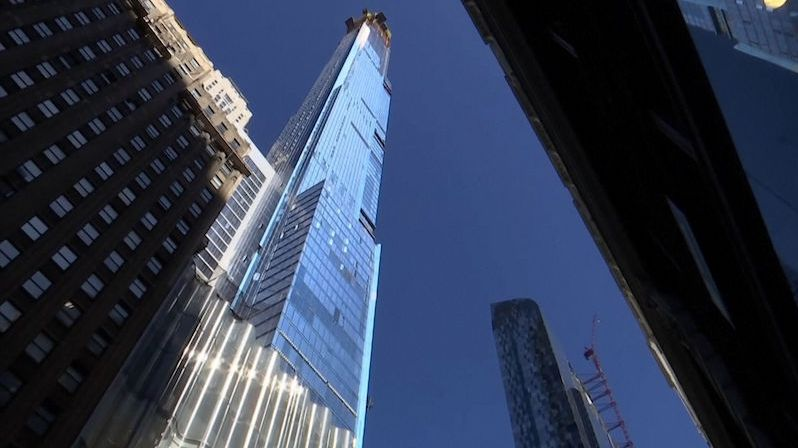 V New Yorku dokončili výstavbu nejvyšší rezidenční budovy světa. Má 472 metrů