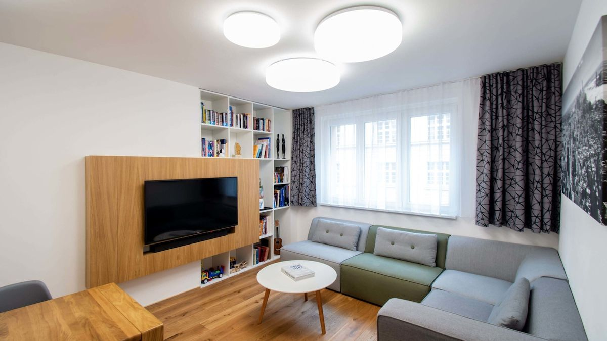 Moderní byt splňuje požadavky současného designu
