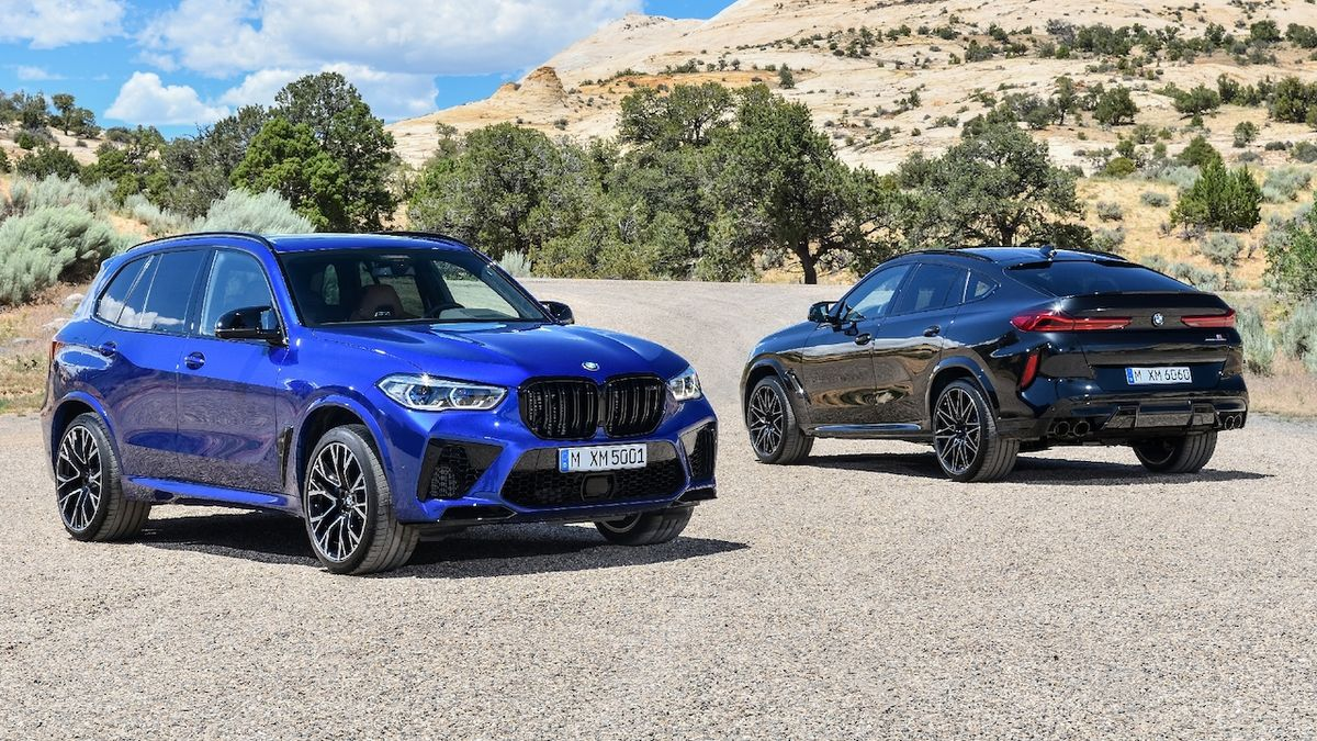 BMW X5 M a X6 M Competition.
