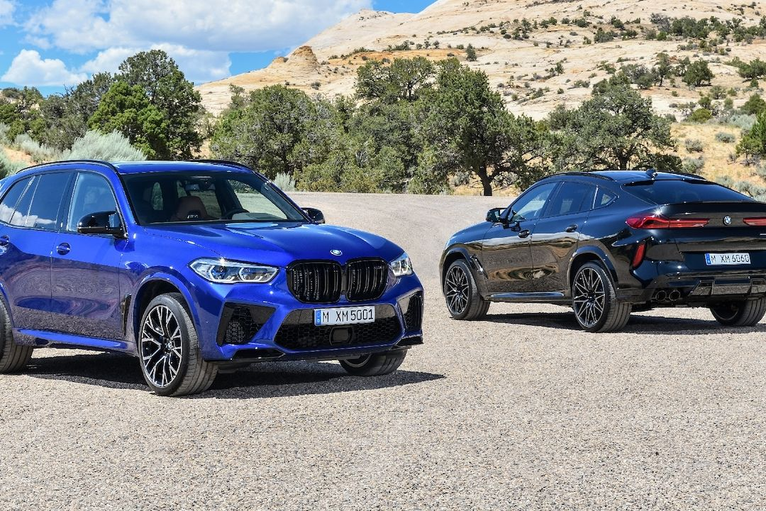 BMW X5 M a X6 M Competition