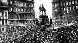 28. říjen 1918: demonstrace izpěv