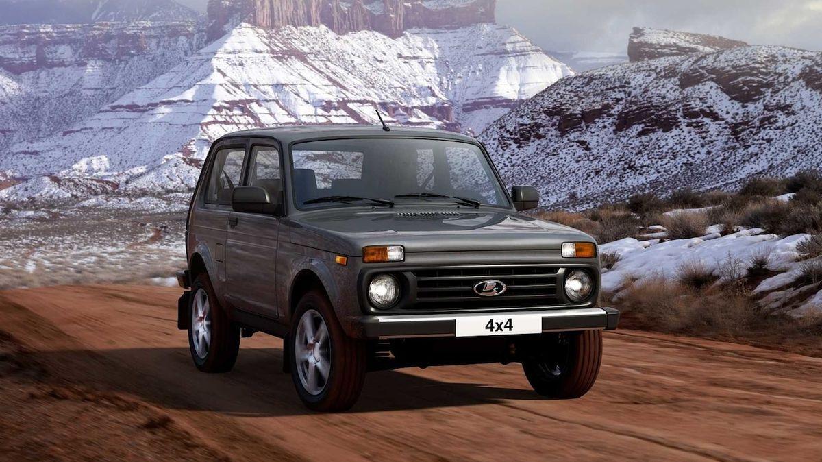 Nesmrtelná Lada 4x4 dostala další facelift