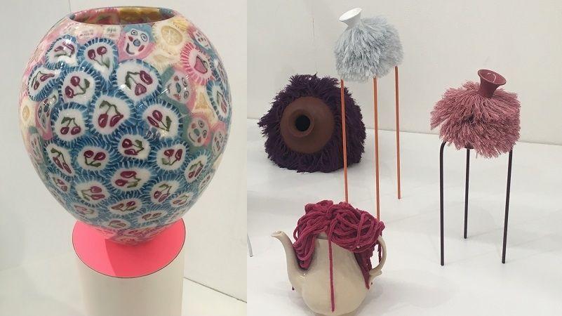Chlupaté a lízátkové vázy jsou designovým výstřelkem, který rozhodně zaujme