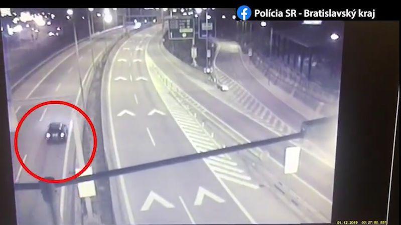 Opilý řidič jel na slovenské dálnici v protisměru
