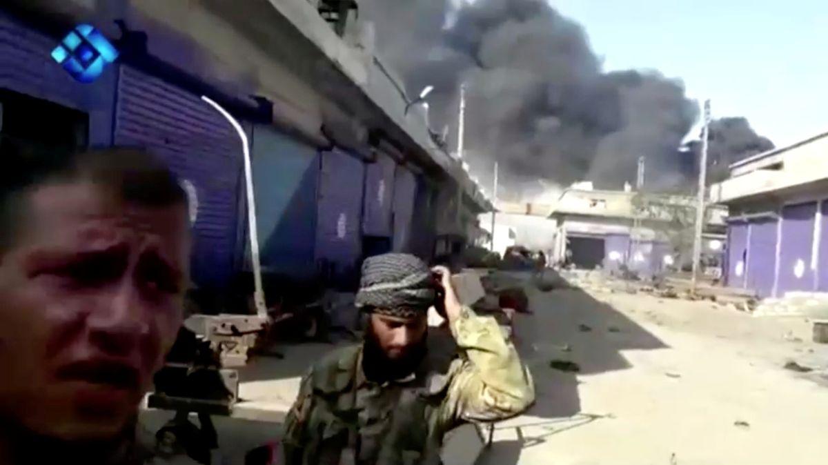 Syrská vládní vojska míří na sever země čelit turecké ofenzivě