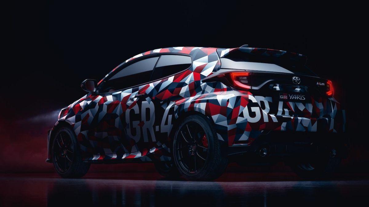 Nabroušená premiéra. V lednu bude představena nová Toyota Yaris GR