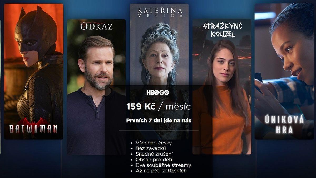 HBO Go už nebude nejlevnější, bude dražší než Apple TV+