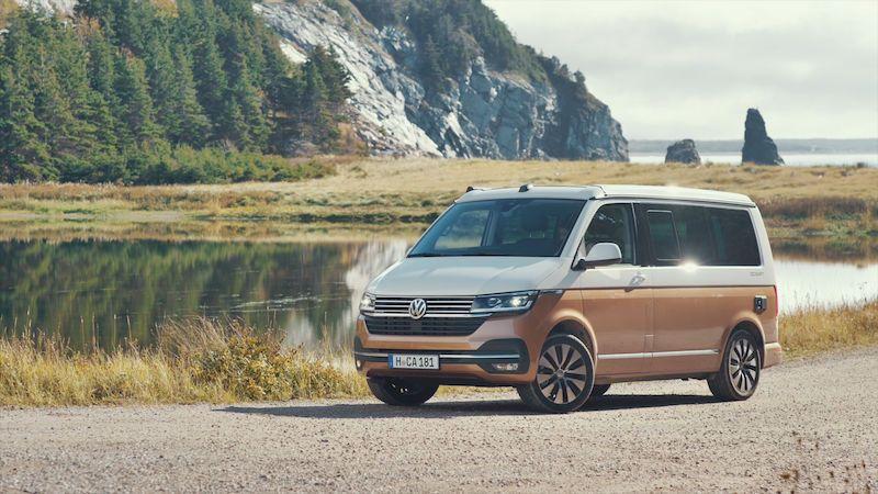 První jízda s Volkswagenem California 6.1: Trocha digitalizace do toho kempování