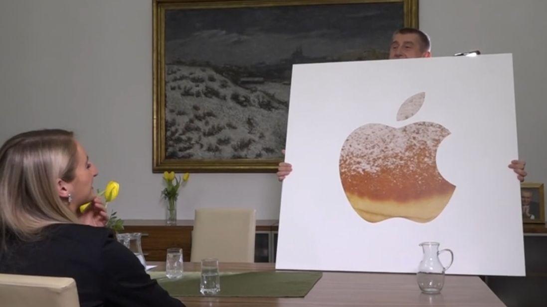 Apple Store v Praze je stále ve hře, slibuje Babiš