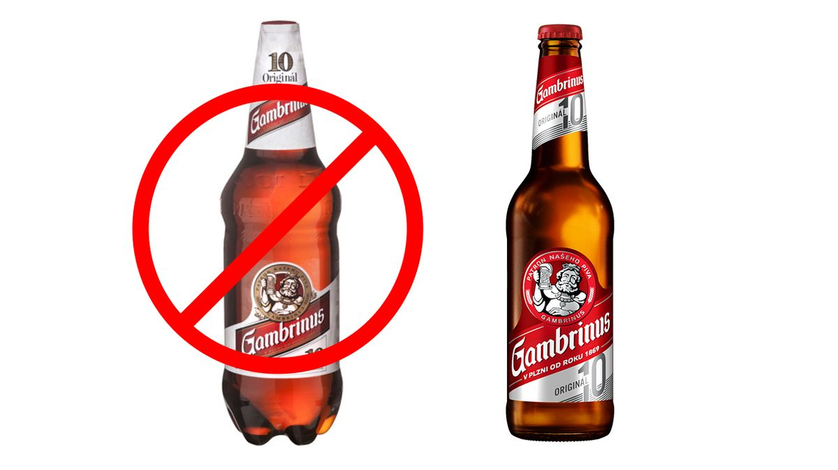Gambrinus skončí s PET lahvemi
