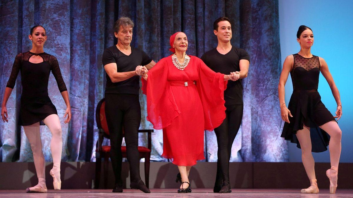Zemřela hvězda baletu Alicia Alonsová