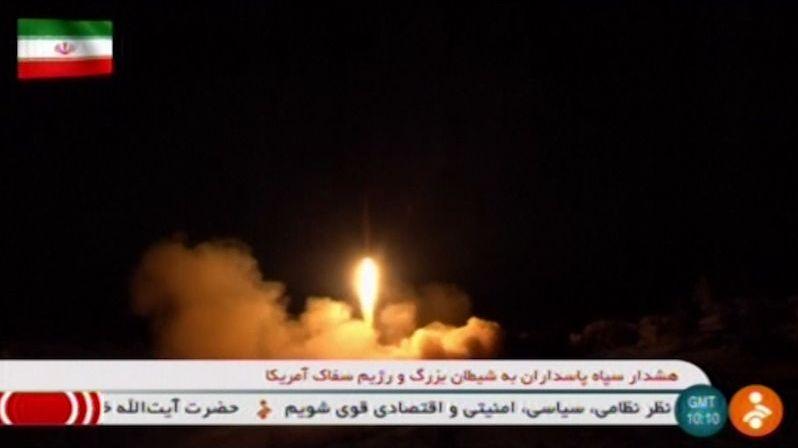 Američané předem věděli o íránském raketovém útoku v Iráku