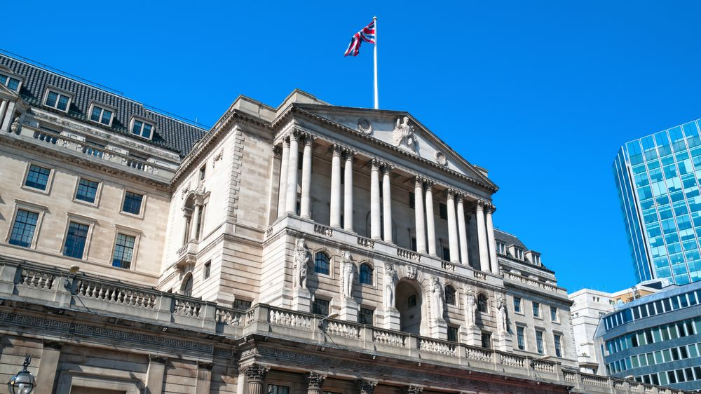 Budova Bank of England