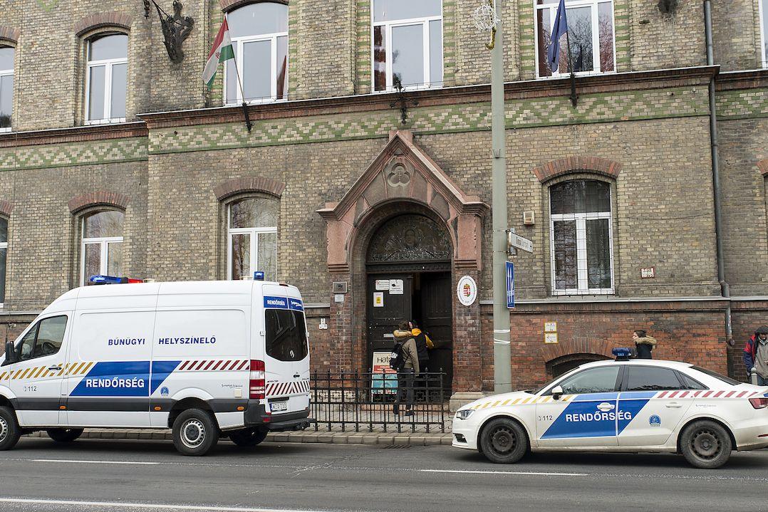 K útoku došlo na střední škole v maďarském Györu